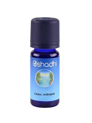 Oshadhi Eterično ulje cedar, virđinijski 10ml (Juniperus virginia)