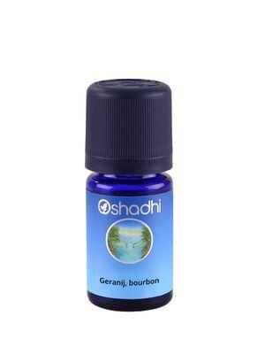 Oshadhi Eterično ulje geranij, burbon 5ml (Pelargonium graveolens)