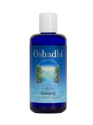 hidrolat ili cvjetna vodica geranija oshadhi